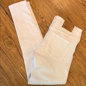 Zara low rise skinny stretch jeans sz 6 EUC